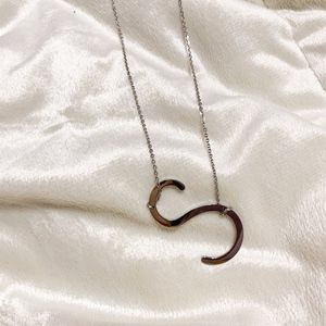 Jewelry - NEW Silver Initial S big letter necklace